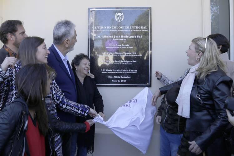 SE INAUGURÓ EN SAN LUIS EL CENTRO ONCOLÓGICO INTEGRAL, UNA OBRA CON UN INMENSO SENTIDO SOCIAL