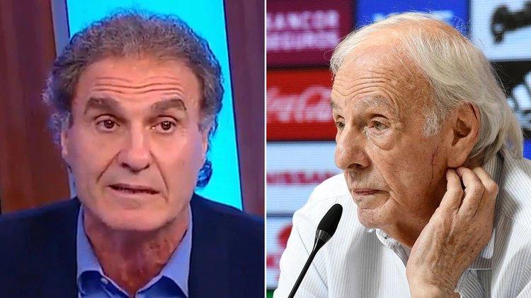 HABLÓ MENOTTI Y SE CRUZÓ FUERTEMENTE CON RUGGERI