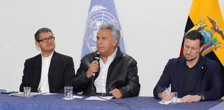 TRAS 12 DÍAS DE PROTESTAS EN ECUADOR: EL PRESIDENTE Y EL MOVIMIENTO INDÍGENA YA NEGOCIAN UNA NUEVA POLÍTICA DE SUBSIDIOS