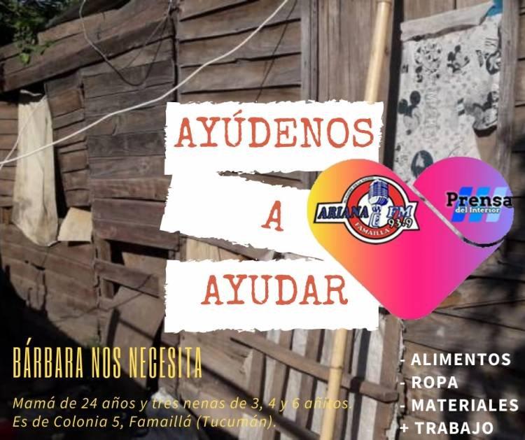 PRENSA DEL INTERIOR Y ARIANA FM SE UNEN EN UNA CAMPAÑA SOLIDARIA