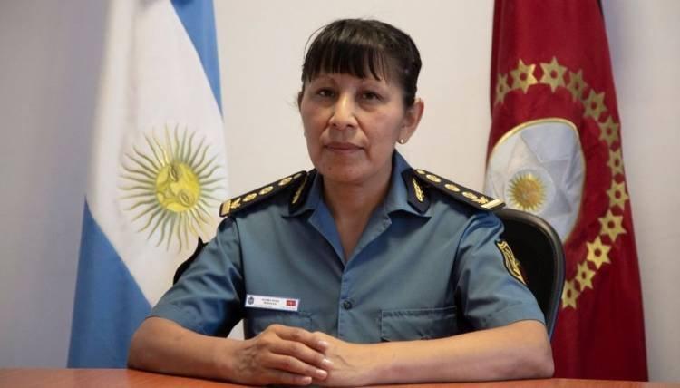 POR PRIMERA VEZ UNA MUJER ASUME LA JEFATURA DE LA POLICÍA EN SALTA