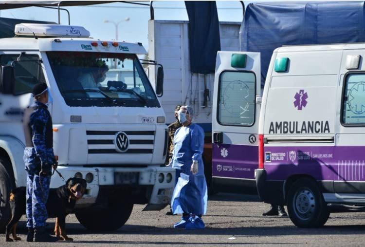 CORONAVIRUS: DETECTARON UN CASO SOSPECHOSO EN EL CENTRO DE TRANSFERENCIA DE CARGAS DEL AUTÓDROMO DE SAN LUIS