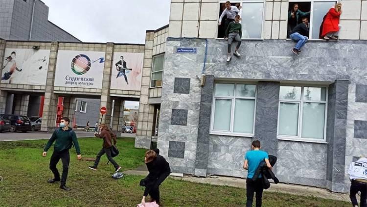 TIRADOR DETENIDO TRAS ATAQUE EN UNIVERSIDAD DE RUSIA: AL MENOS OCHO MUERTOS Y VARIOS HERIDOS